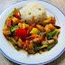 [710] Gebratener Reis mit Crevetten
