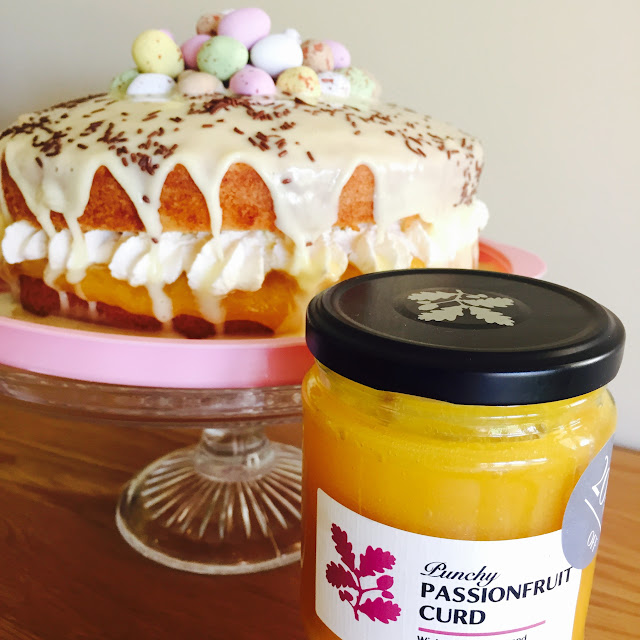 Recipe Fruit Curd Cake