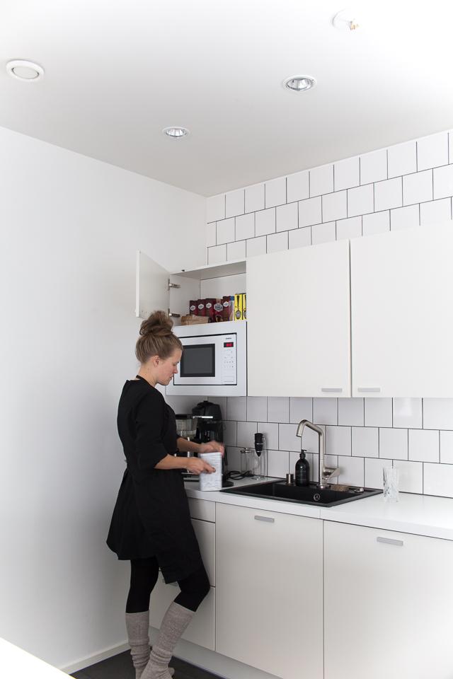 keittiö, valkoinen keittiö, villa h blogi, oma tyyli