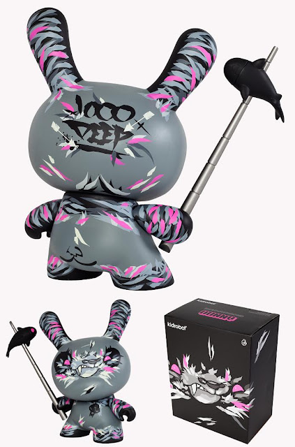 Shadow Friend 8″ Dunny and Packaging by Angry Woebots