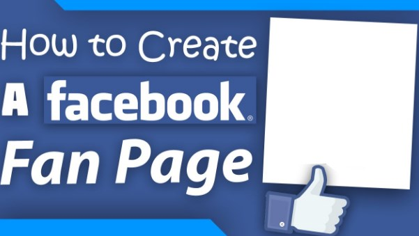 how to create a fan page on facebook step by step