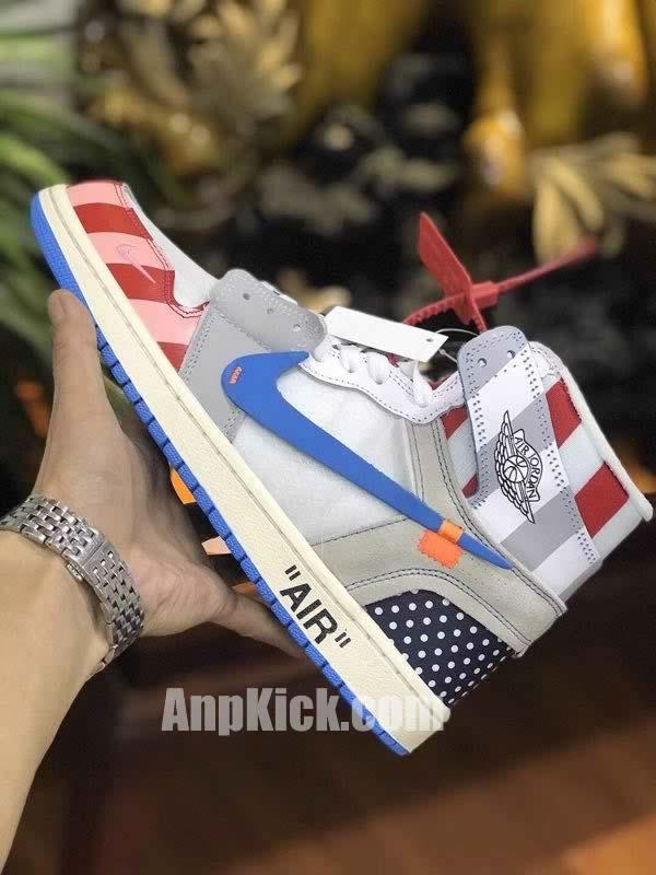 7d2f05f4564 ... inexpensive from anpkick anpkick parra off white air jordan 1 customize  shoes custom made jordans 0aa9a