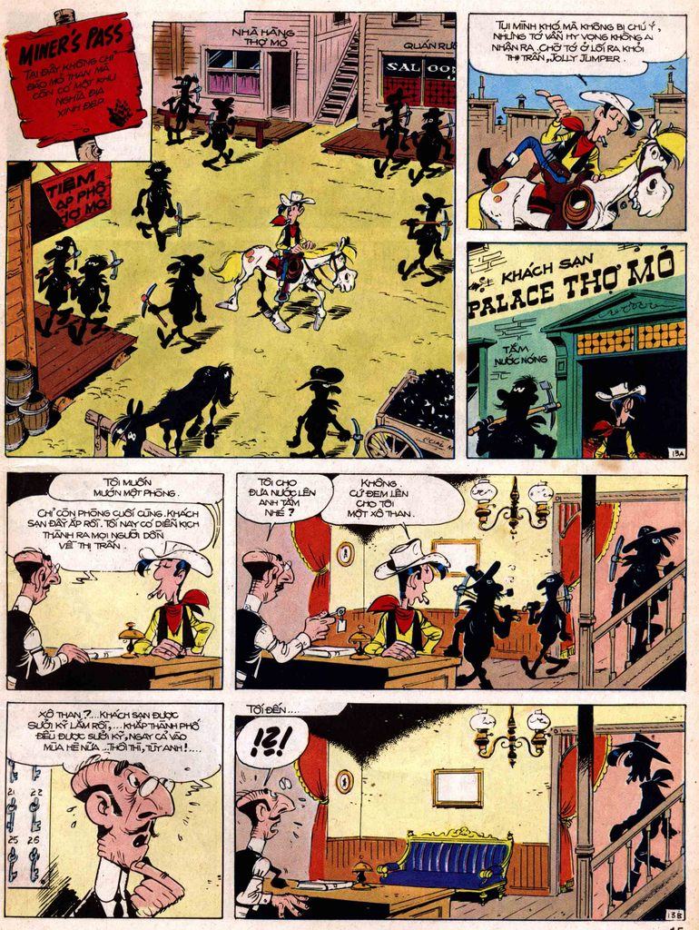 Lucky Luke tap 18 - ki si ao trang trang 13