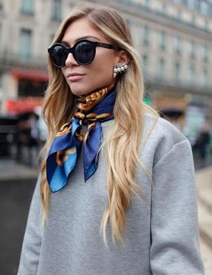 7 Formas atuais e diferentes para usar os lenços de seda