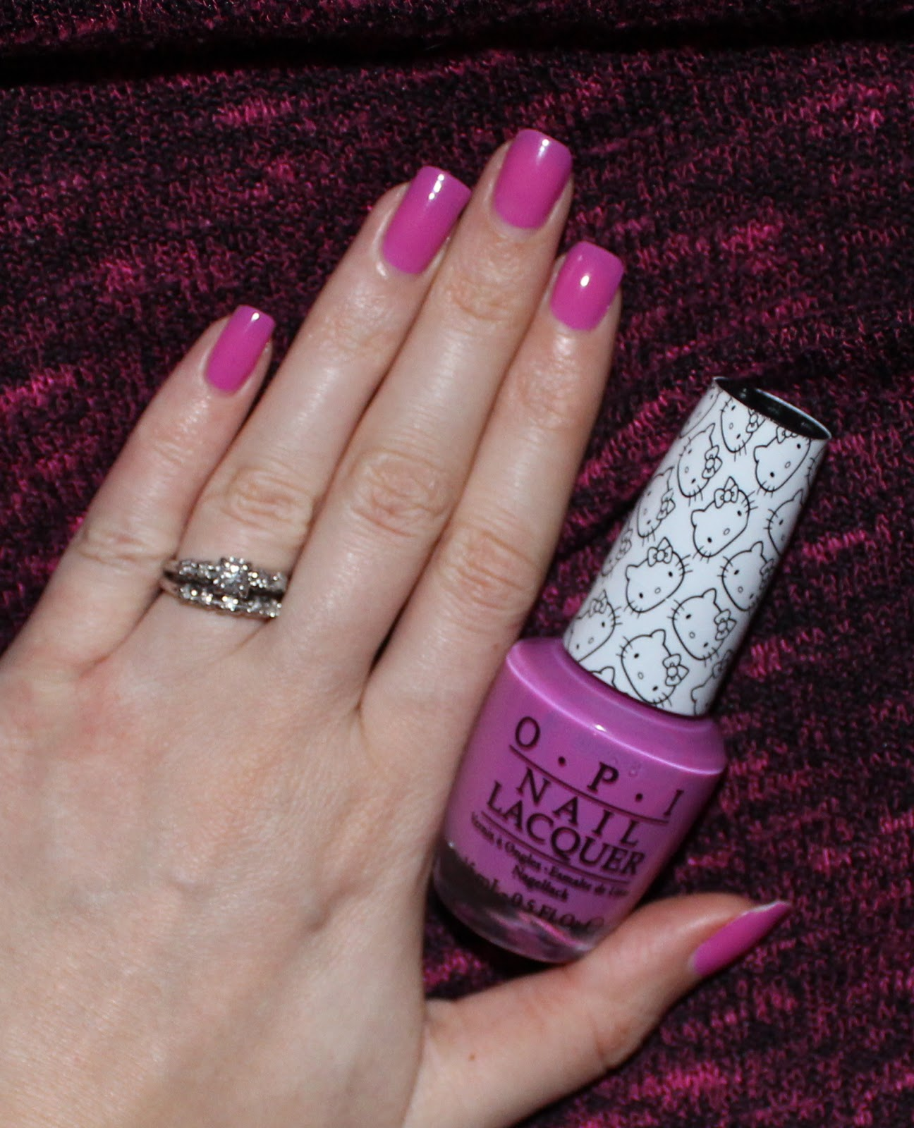 beyond blush: opi super cute in pink