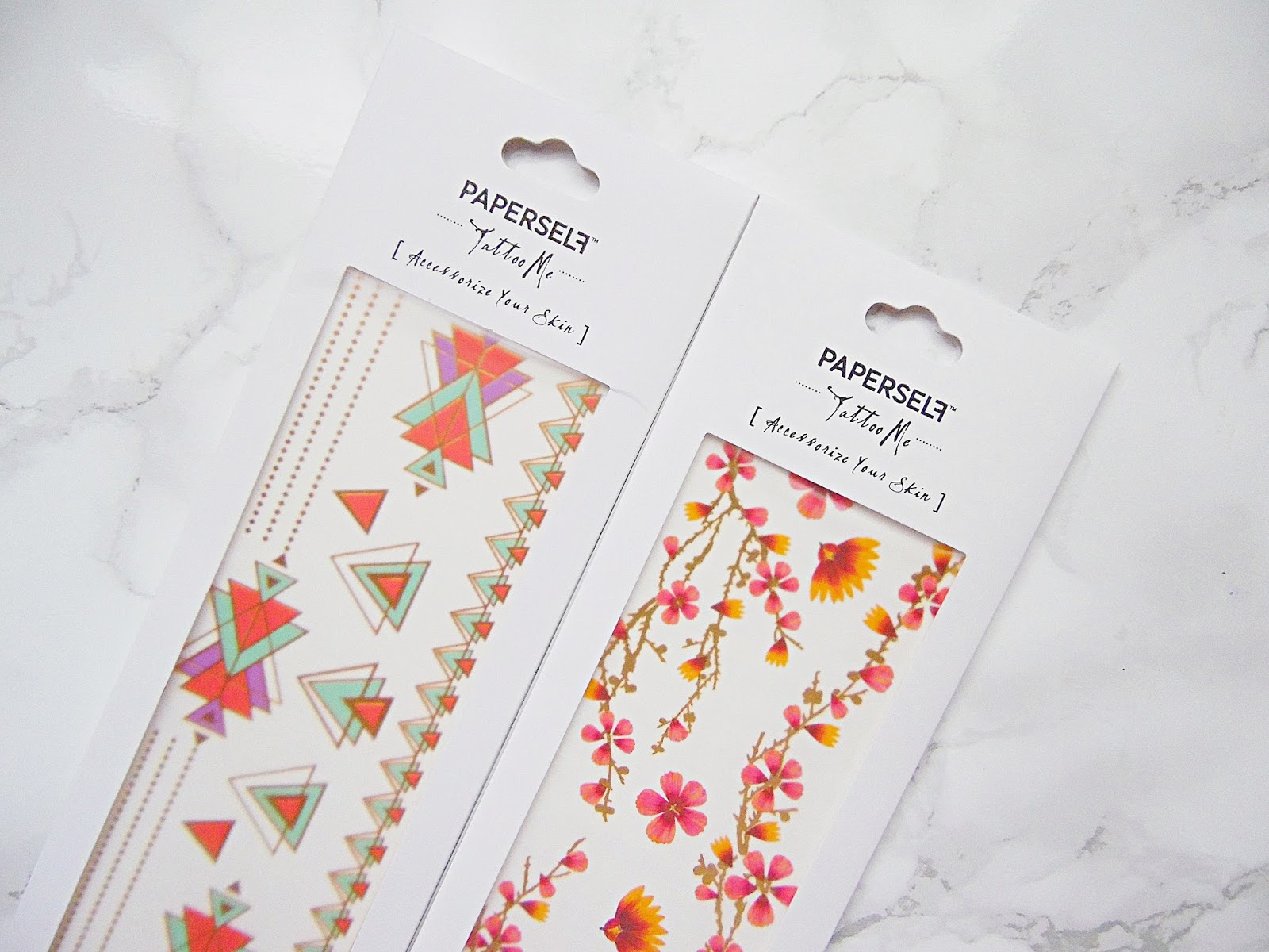 Paperself Tattoos & Paper Lashes