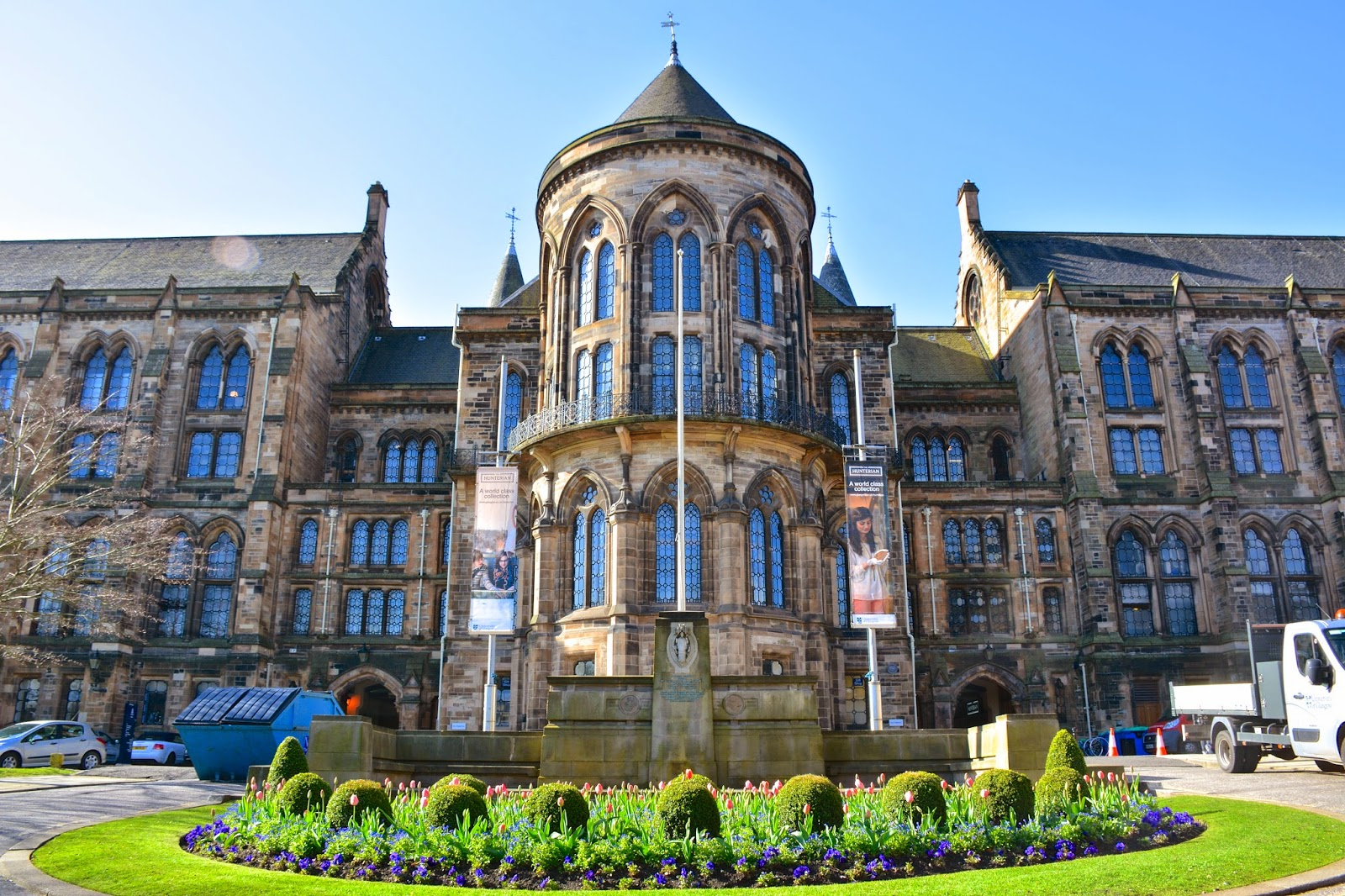 Coloring Without Borders: Glasgow spring