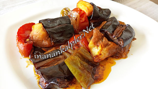 Tavuklu Patlıcan Kebabı - www.inanankalpler.net