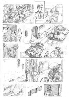 Comic Gárgolas. El Quinto Poder