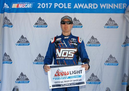 Nascar race mom busch wins rinnai 250 bell wins active for Atlanta motor speedway lights 2017