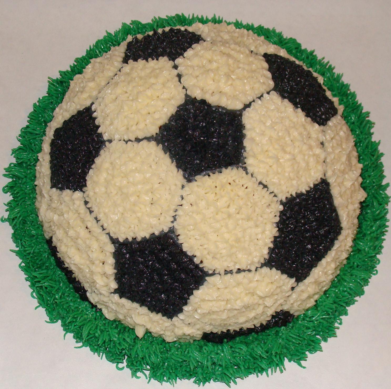 Door County Custom Cakes And Cookies Soccer Ball Cake
