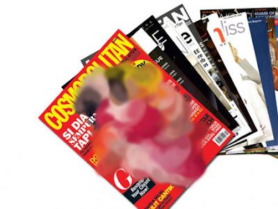 majalah memuat gambar-gambar t3lanjang