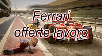 Offerte lavoro Ferrari auto - adessolavoro.blogspot.com