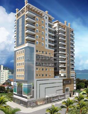 ENC: 1165 - Chateau Unique Residence - Apartamento 3 suítes - Quadra do Mar - Meia Praia - Itapema/SC