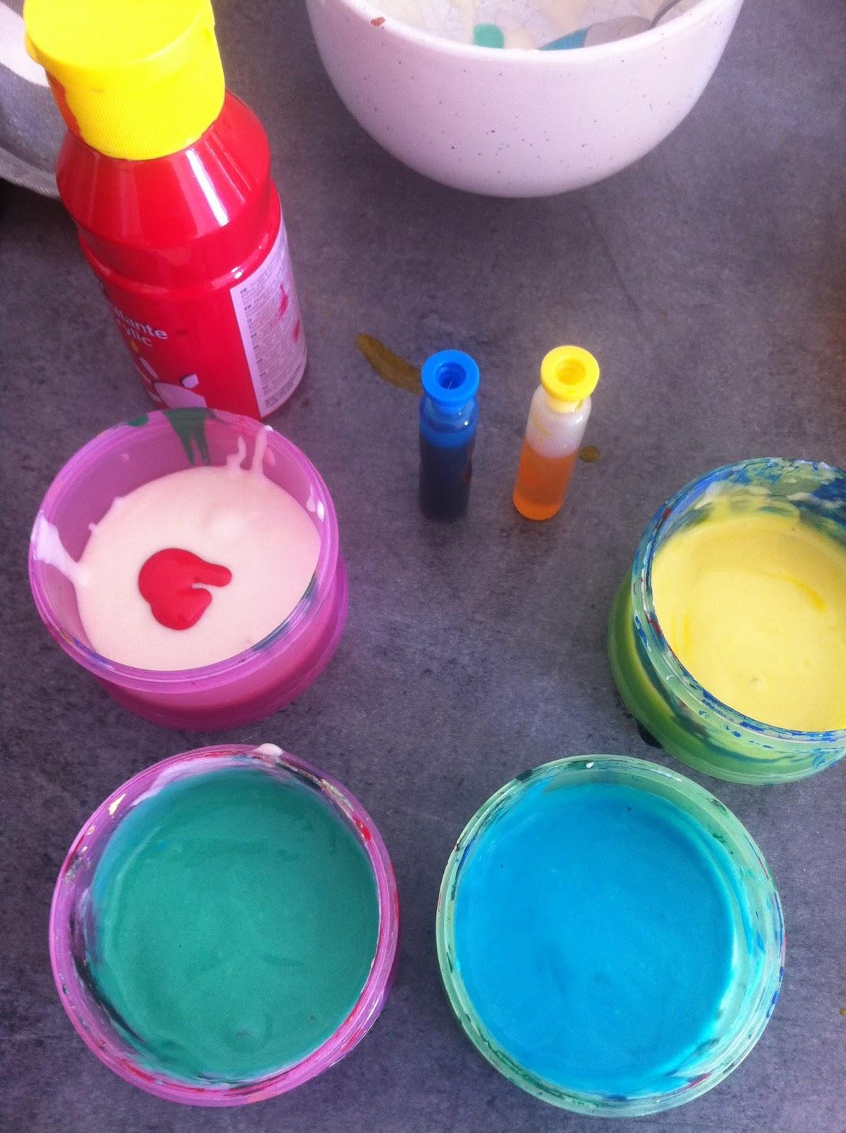 attention le colorant alimentaire tche la peinture est plus facile enlever - Tache Colorant Alimentaire