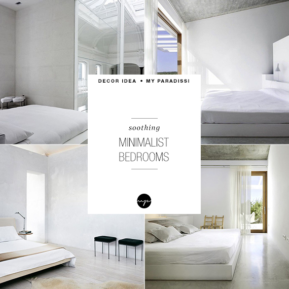 Soothing minimalist bedrooms for a simple life | My Paradissi