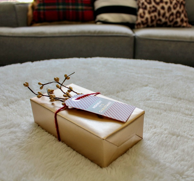 Gift wrapping Inspiration blog hop from the girls of no place like home