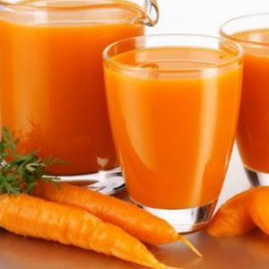 jugo de zanahoria para la gastritis
