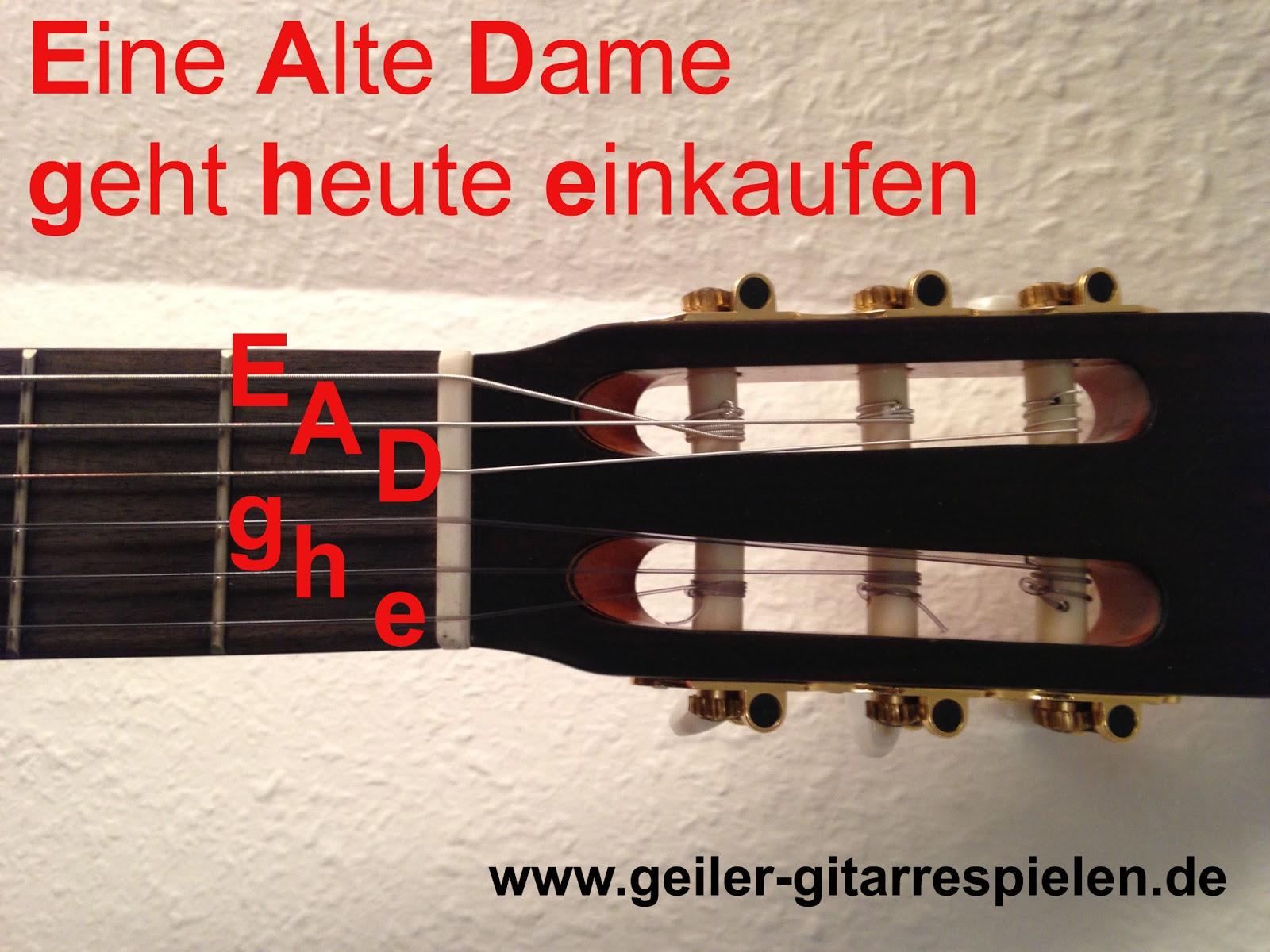 Grundstimmung der Gitarre | Einfach geiler Gitarre spielen!