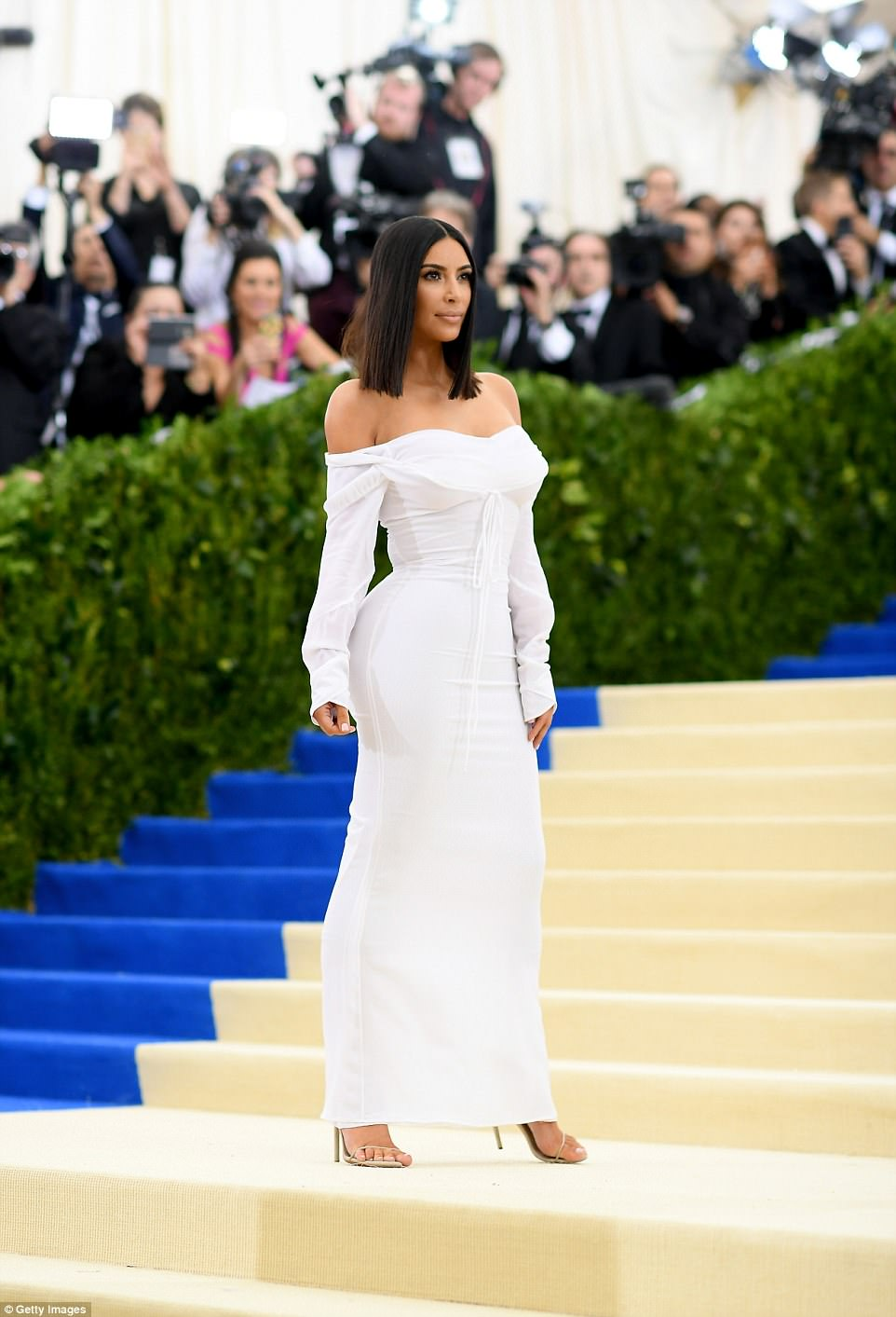 Kim Kardashian at MET Gala in New York