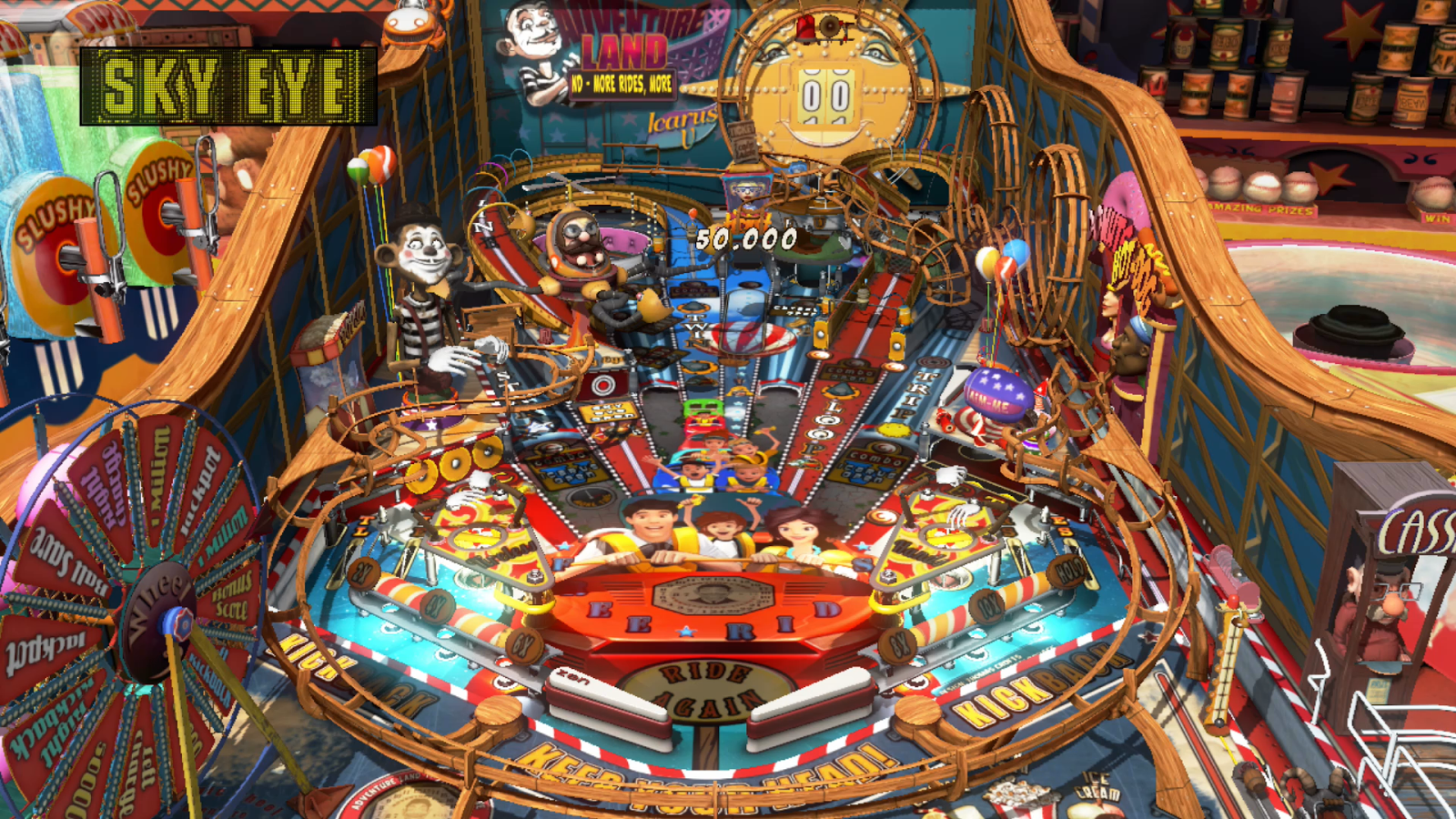 Nindie Spotlight: Review: Pinball FX3 - Carnivals and Legends Pack