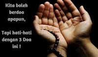 Inilah Tiga Doa Yang Tidak Akan Pernah Dikabulkan Oleh Allah SWT