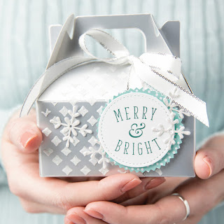 Stampin' Up! Another Wonderful Year Christmas Gift Box