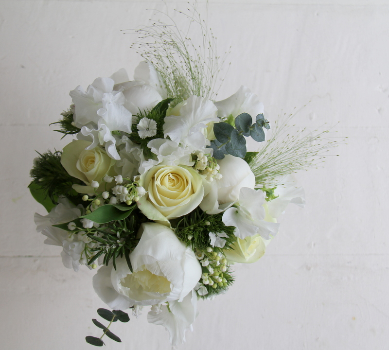 Lily Of The Valley Wedding Flowers: The Flower Magician: Classic White Wedding Bouquet Of