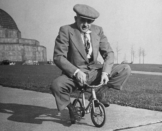 поза на велосипеде
