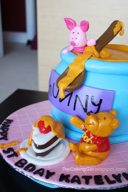 Thecakinggirl Winnie The Pooh Cakes