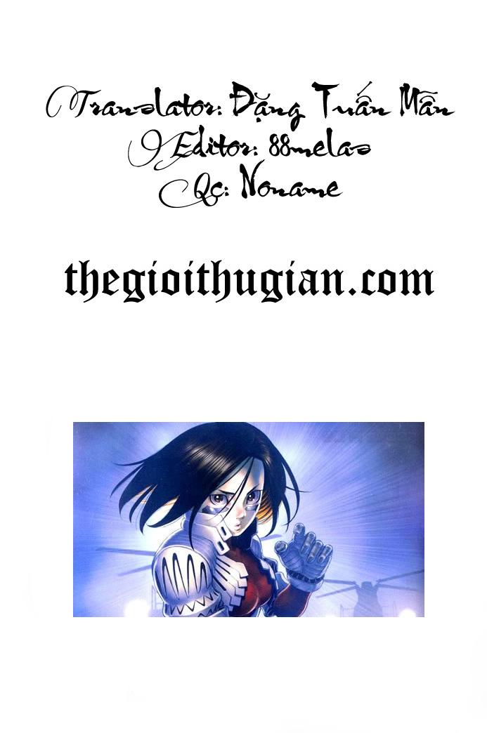 Battle Angel Alita chapter 53 end trang 1