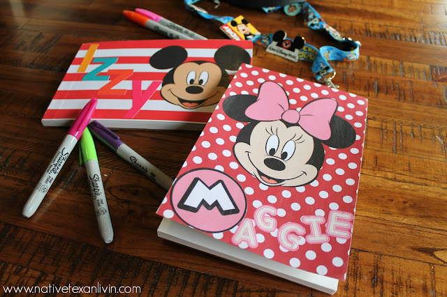 Easy DIY Disney Autograph books
