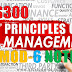 Module-6 Note for Principles of Management HS300 | S5 S6 Common Subject