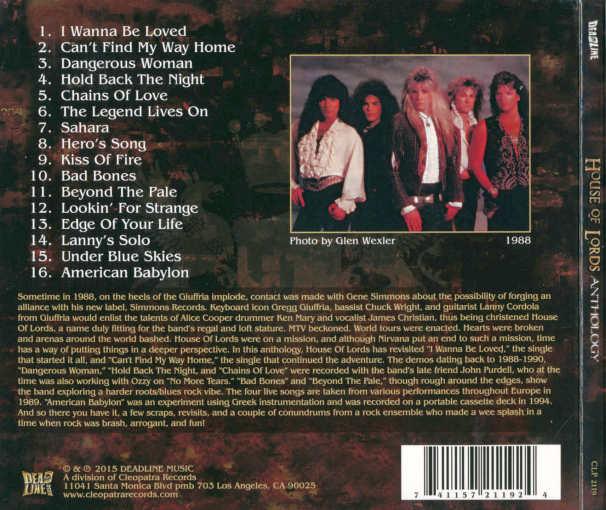 DEVIL CITY ANGELS - Devil City Angels [retail CD] back