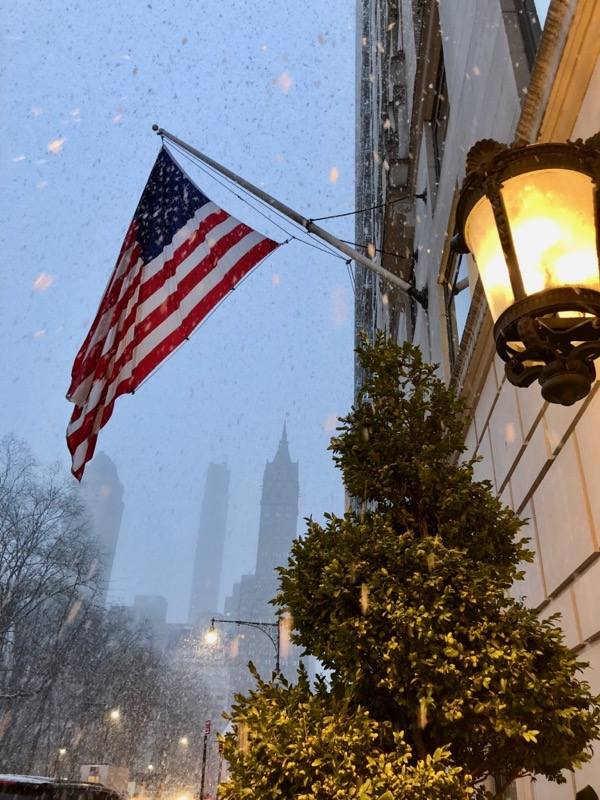 New York snow February 2018