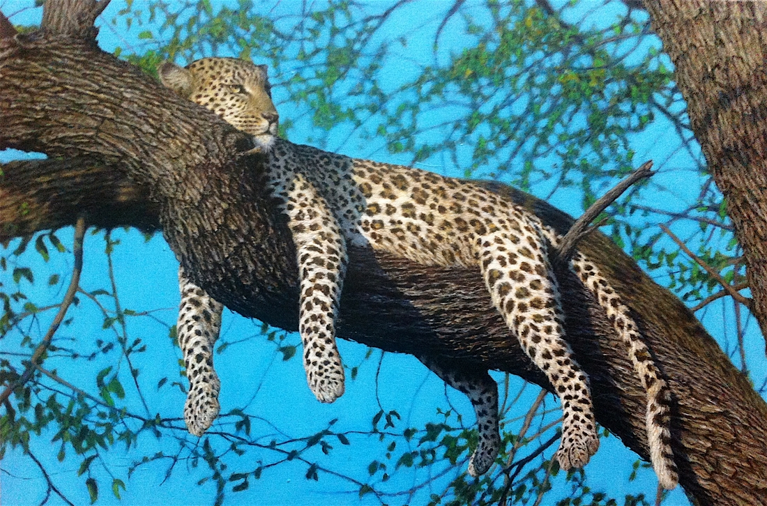 10-Leopard-Nick-Sider-Realistic-Animal-Paintings-more-than-a-Photo-Image-www-designstack-co