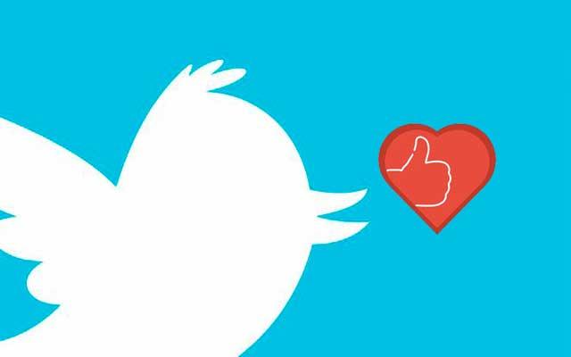 Twitter dice adios a los Me gusta