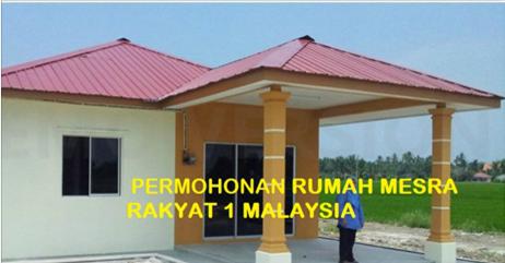 Permohonan Rumah Mesra Rakyat 1malaysia Rmr1m Kini Dibuka Mohon