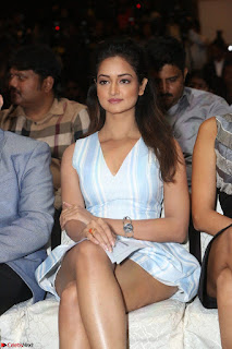 Shanvi Looks super cute in Small Mini Dress at IIFA Utsavam Awards press meet 27th March 2017 87.JPG
