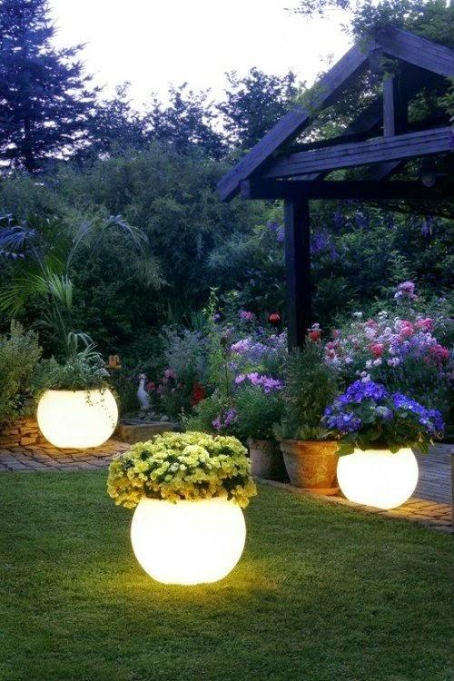 Create Glow in the Dark Planters #Decoration