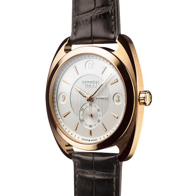 Hermes Dressage Watch Gold