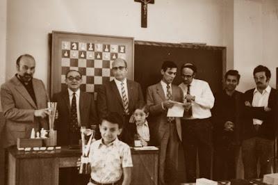 II Torneo Escolar 1970, entrega de premios