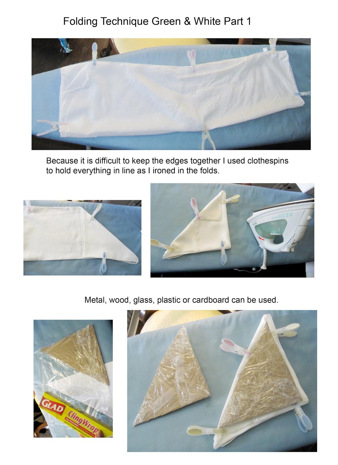 Deborahkatharine Capitol Hill Shibori Folding Technique