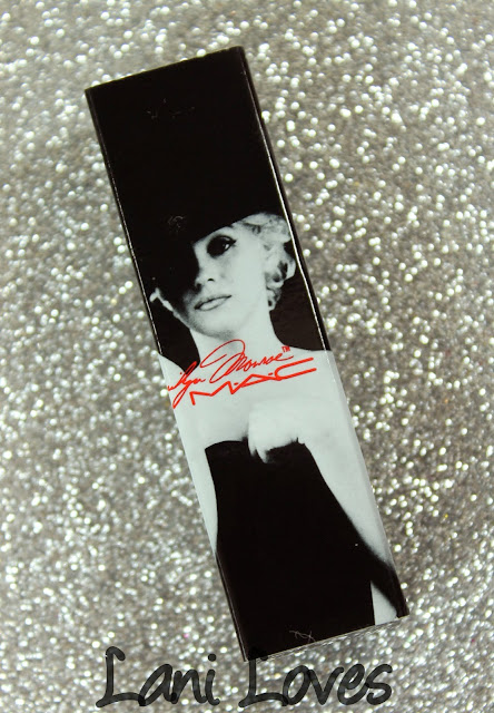 MAC MONDAY   MAC X Marilyn Monroe Lipsticks swatches & Review