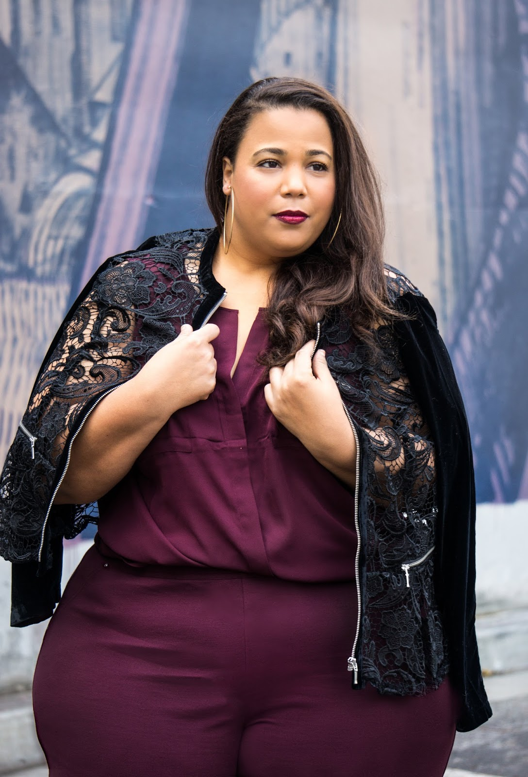 Plus Size Holiday Office Party Look, INC Plus Size Clothing