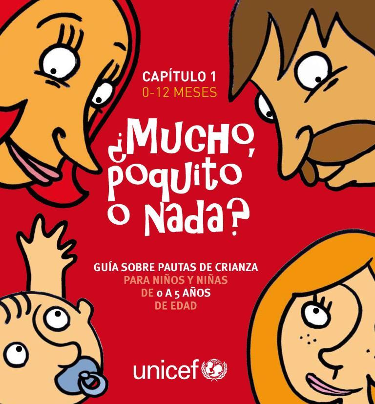 ¿Mucho poquito o nada?: Guía sobre pautas de crianza para niños y niñas de 0 a 12 meses