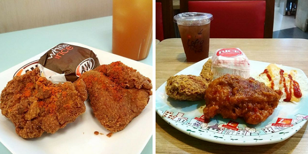 Spicy Aroma Chicken A&W dan Chicken Buldak Lotteria