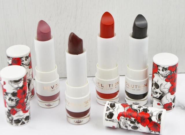 Makeup Revolution Limited Edition Halloween Lipstick Lovelaughslipstick Blog