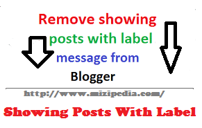 Cara Mudah Menghapus Tulisan Showing Posts with Label Pada Blogger