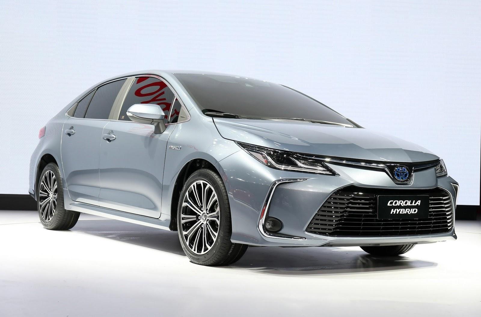 All New Toyota Corolla Sedan Hybrid Ms Blog